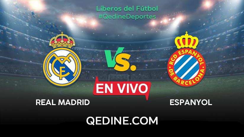 Real Madrid Vs Espanyol En Vivo Hora Y Canal De Transmisión Del Partido Por Liga Santander Qedine