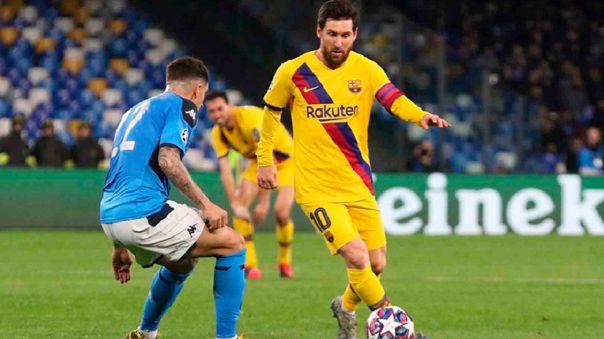 Barcelona Vs Napoli EN VIVO Horarios Y Canales TV D U00f3nde